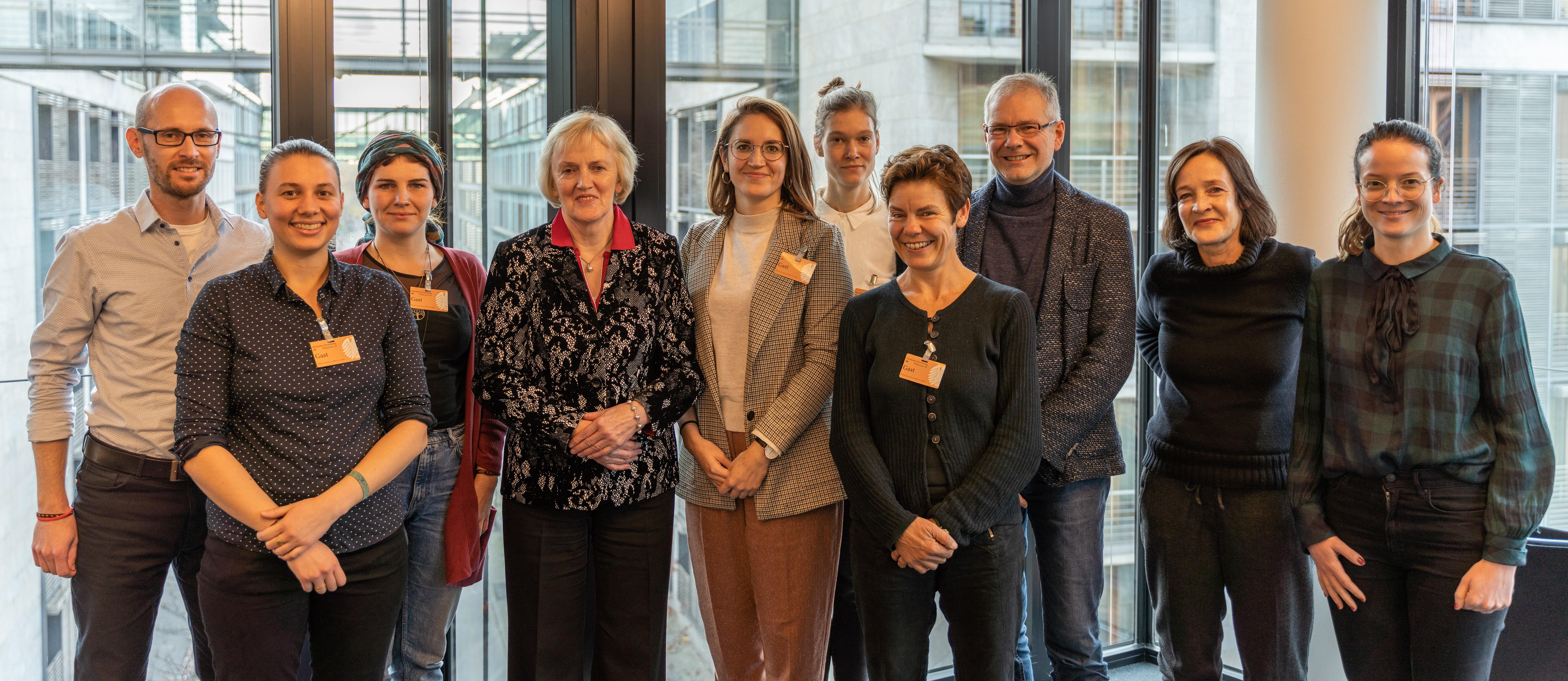Foto von einem Treffen des Bündnis Lebensmittelrettung